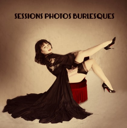 Les Sessions Photos Burlesques 2014